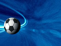 Football. Space abstract. Football.   abstraction background for card and stands Royalty Free Stock Photos