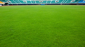Football sports field Stock Images