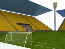 Football stadium №2 Royalty Free Stock Image