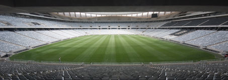 Football stadium Stock Image