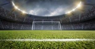 Free Football Stadium Royalty Free Stock Photography - 187107497