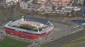 Football stadium. AFAS Football stadium for AZ Alkmaar Stock Photo