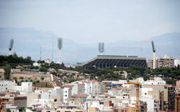 Football stadium of Alicante Stock Images