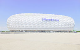 Football Stadium Allianz Arena. Munich Germany. Royalty Free Stock Image