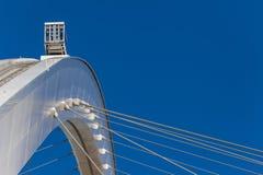 Football Stadium Arch Cables SkyCab Stock Image