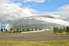 Football stadium ASTANA ARENA in Astana Stock Images