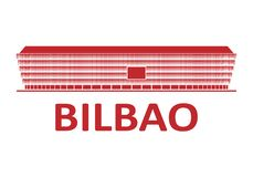 Football stadium. Bilbao. Football stadium 2020. Bilbao. Spain royalty free stock photography