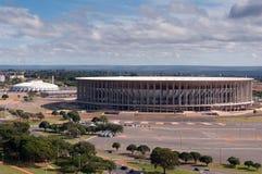 Football Stadium in Brasilia Stock Photos