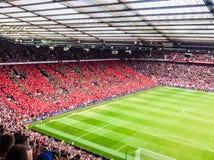 Football crowd stock photography
