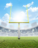 Football Stadium Day Royalty Free Stock Photo