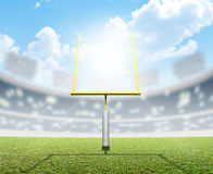 Football Stadium Day Royalty Free Stock Image