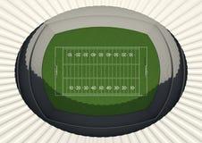 Football Stadium Day Stock Photo