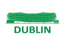 Football stadium. Dublin. Football stadium 2020. Dublin. Ireland royalty free stock photos