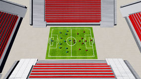 Football stadium   Stock Photography