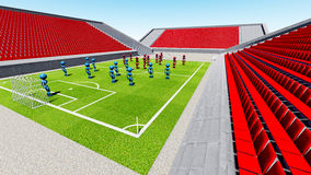 Football stadium   Stock Images