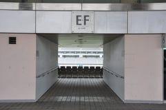 Football stadium entrances. In Korea Royalty Free Stock Photo