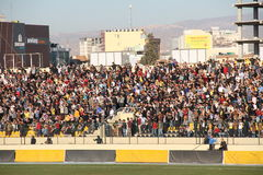 Football stadium. Firanso hariri football stadium at erbil city Stock Photo