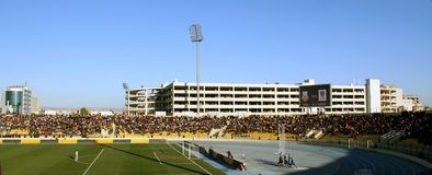 Firanso hariri football stadium of erbil, iraq Stock Photos