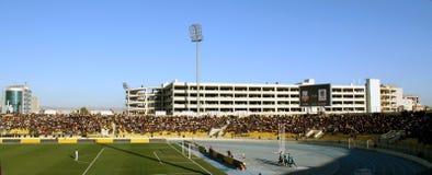 Firanso hariri football stadium of erbil, iraq. Firanso hariri football stadium at erbil city Stock Photos