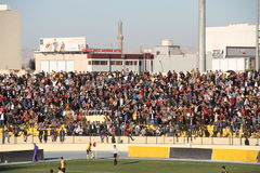 Football stadium. Firanso hariri football stadium at erbil city Royalty Free Stock Photo