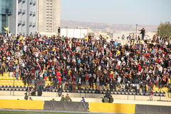 Football stadium. Firanso hariri football stadium at erbil city Royalty Free Stock Photos