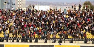 Football stadium. Firanso hariri football stadium at erbil city Stock Photos