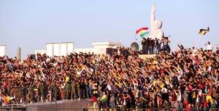 Football stadium. Firanso hariri football stadium at erbil city Stock Images