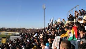 Football stadium. Firanso hariri football stadium at erbil city Royalty Free Stock Photography