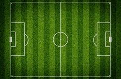 Football stadium with gates Royalty Free Stock Photo