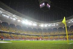 Football stadium. Inside a football stadium, National Arena, Bucharest Stock Photos