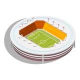 Football Stadium isometric Royalty Free Stock Photo