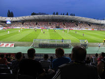 Football Stadium Ljudski vrt, Maribor, Slovenia Royalty Free Stock Photo