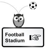 Football Stadium Royalty Free Stock Photo