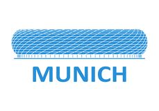 Football stadium. Munich. Football stadium 2020. Munich. Germany stock photos