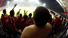 Football stadium stock video footage