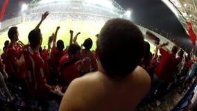 football stadium stock video footage