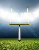 Football Stadium Night Royalty Free Stock Images