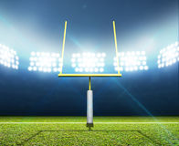 Football Stadium Night Royalty Free Stock Image
