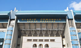 Football stadium in Palermo Royalty Free Stock Images