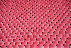 Football stadium. The repeat of football stadium seats Stock Images