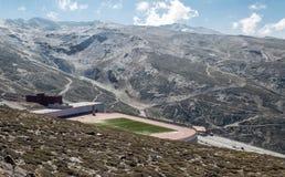 Football stadium of Sierra nevada Stock Image