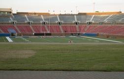 Football stadium in SMU Dallas TX Stock Images