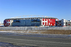 Football stadium Spartak Opening arena in Moscow Stock Image