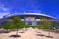 Football stadium. Sports Authority Field of Mile High city for Denver Broncos in Denver Colorado Stock Photo
