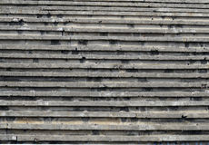 Football stadium terrace Royalty Free Stock Images