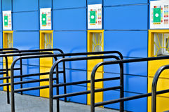 Football stadium ticket office. Ticket office of the football stadium royalty free stock image