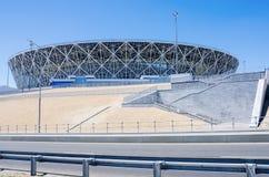 Free Football Stadium Volgograd Arena Stock Photos - 119961623