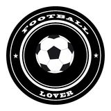 Football stamp Stock Images