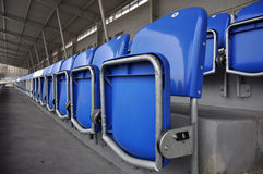 Football stands Royalty Free Stock Photo