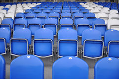 Football stands Stock Photography